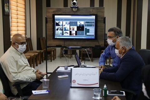 ارتباط مجازی با شهرستان ها در نخستین روز از هفته بهزیستی