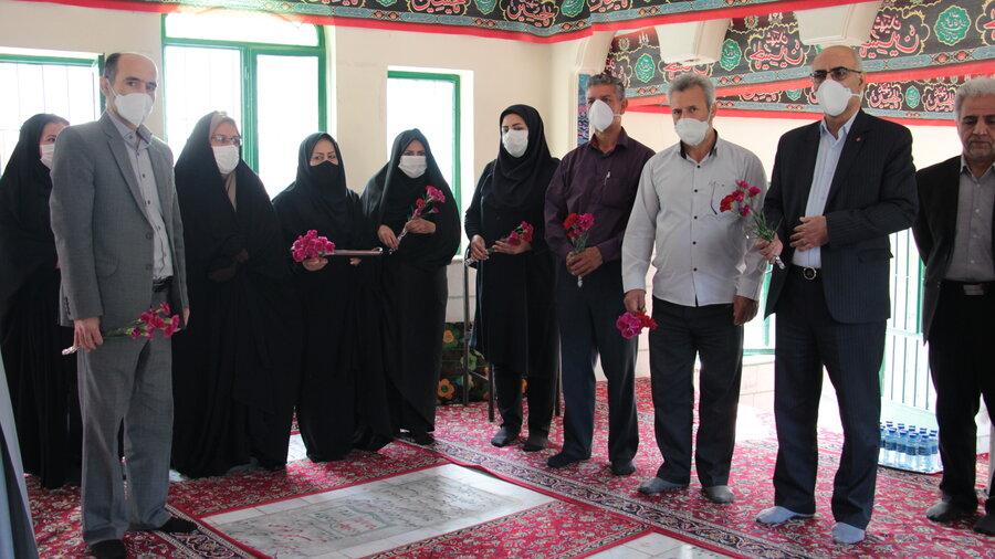 گزارش تصویری ا آغاز برنامه های هفته بهزیستی با حضور مدیرکل و معاونین ستادی در گلزار شهدای درجزین