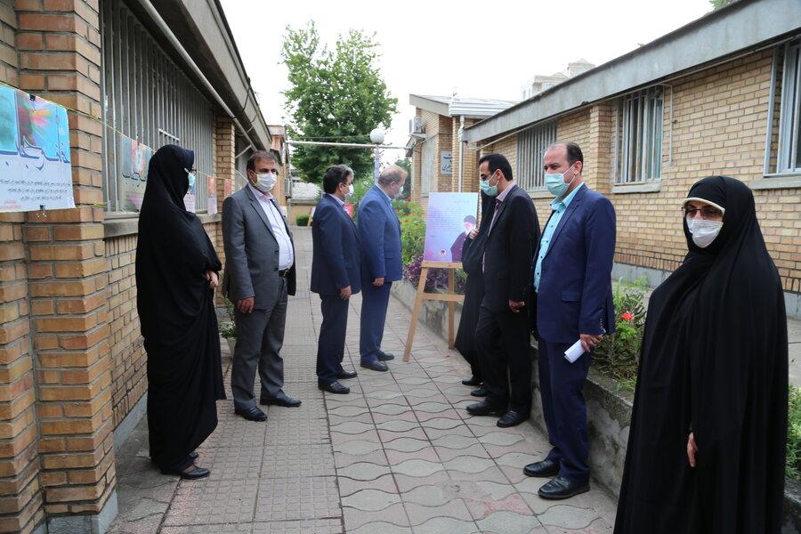 گزارش تصویری| برپایی نمایشگاه عکس عفاف و حجاب در اداره کل بهزیستی استان مازندران