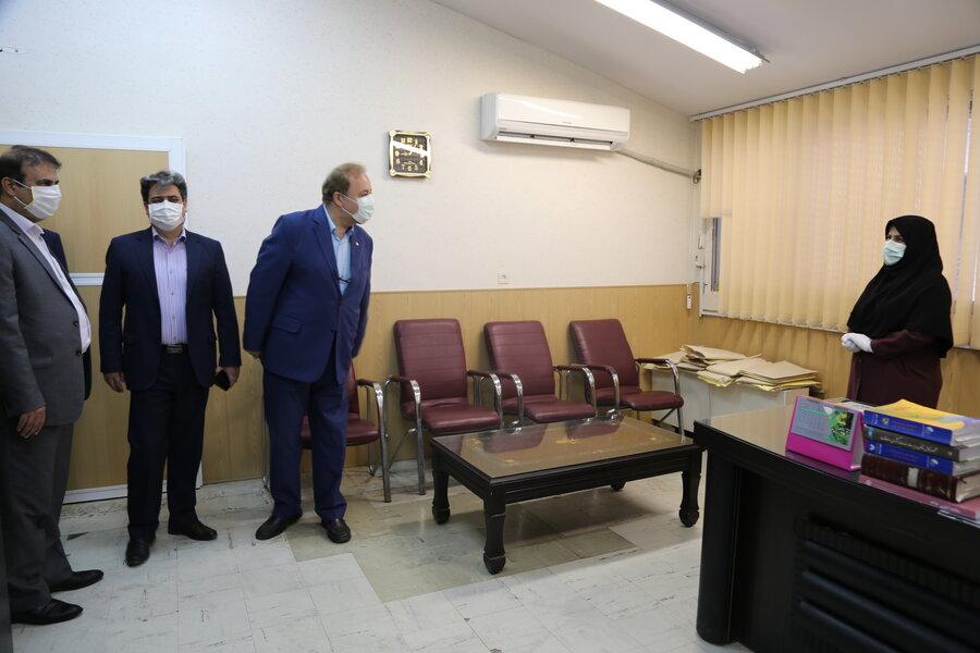 گزارش تصویری| دیدار مدیر کل بهزیستی استان مازندران با همکاران به مناسبت فرارسیدن هفته بهزیستی