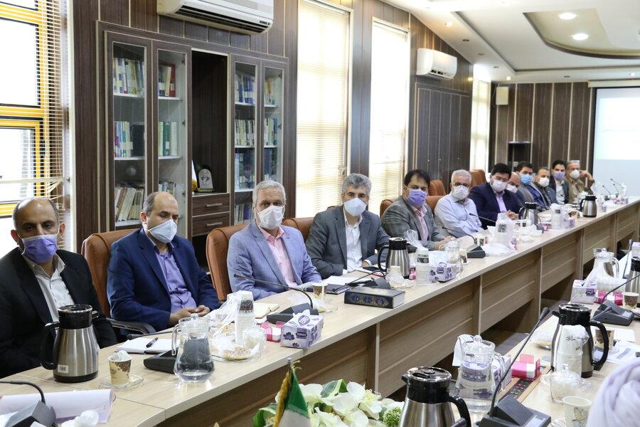 نشست شورای معاونین با حضور نماینده محترم مردم رشت در مجلس شورای اسلامی