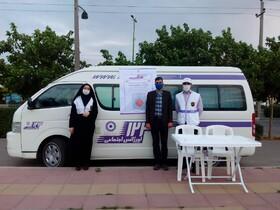 گزارش تصویری | مانور خودروهای سیار اورژانس اجتماعی همزمان با آغاز هفته بهزیستی در کلیه شهرستانهای استان