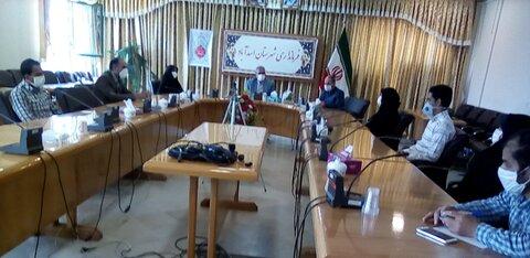 اسدآباد| دیدار با فرماندار شهرستان آسداباد به مناسبت هفته بهزیستی