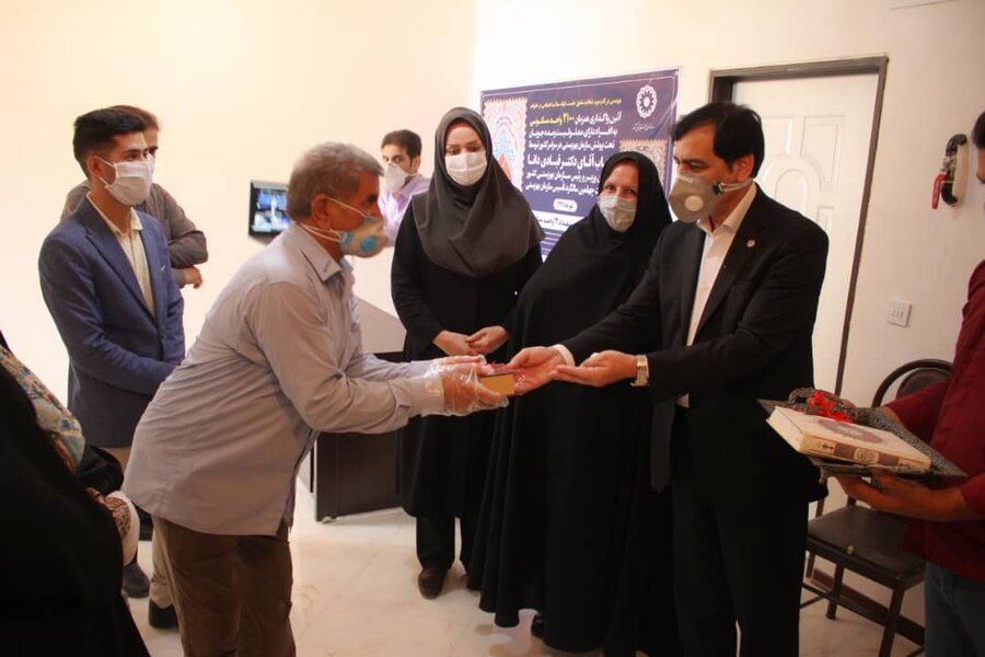 آیین واگذاری ۲۱۰۰ واحد مسکن مددجودیی بهزیستی سراسر کشور و ۱۲ واحد مسکن مددجویی بهزیستی البرز برگزار شد