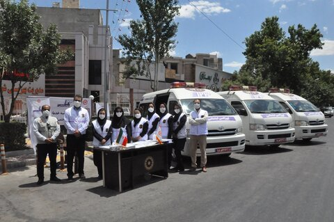 گزارش تصویری | مانور اورژانس اجتماعی بهزیستی خراسان رضوی