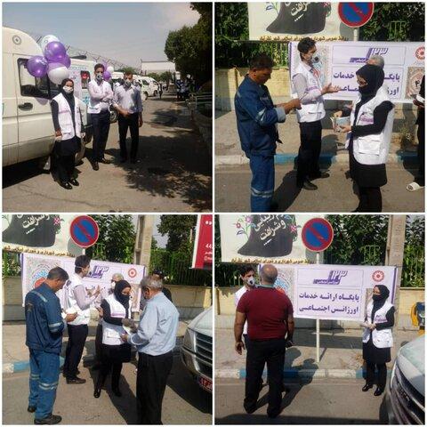 نظرآباد | مانور اورژانس اجتماعی در سطح شهرستان نظرآباد
