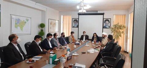 کرج | نشست مشترک بهزیستی شهرستان کرج و شورای شهر ماهدشت
