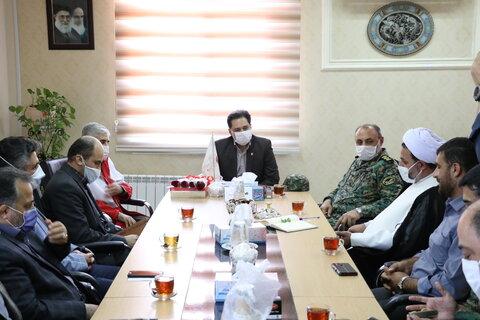 دیدار فرماندهی یگان ویژه نیروی انتظامی استان گیلان با دکتر نحوی نژاد به مناسبت گرامیداشت هفته بهزیستی