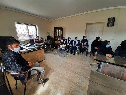 گزارش تصویری دیدار دکتر صحاف،مدیر کل بهزیستی استان با کارکنان اداره بهزیستی شهرستان هشترود و بازدید از مرکز اورژانس اجتماعی شهرستان