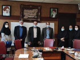 نشست مدیرکل بهزیستی استان تهران با کارکنان ایثارگر