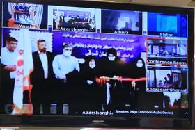 گزارش تصویری  آئین افتتاح ویدئو کنفرانس 5 مرکز درمان و بازتوانی اعتیاد د کشور