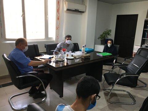 ملارد | همزمان با هفته بهزیستی جلسات کمیسیون پزشکی با رعایت پروتکل های بهداشتی و فاصله گذاری اجتماعی برگزار شد
