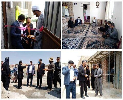 افتتاح مسکن معلولین در روستاهای تابعه دیواندره بمناسبت گرامیداشت هفته بهزیستی