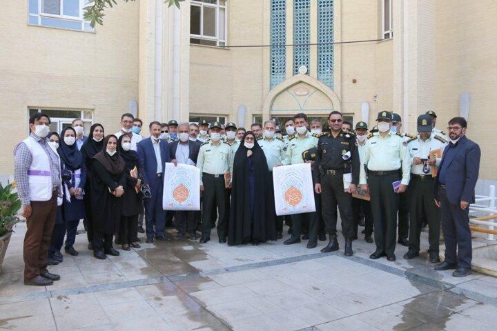گزارش تصویری  هم افزایی بهزیستی و نیروی انتظامی استان در راستای ارتقای سلامت اجتماعی خانواده