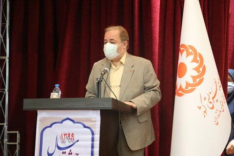 حضور استاندار مازندران در اداره کل بهزیستی استان