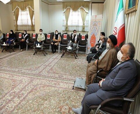گزارش تصویری / دیدار تشکلهای معلولین و پرسنل اورژانس اجتماعی 123 با نماینده ولی فقیه در استان کردستان