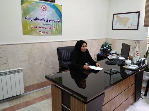 دماوند | نشست خبری رئیس بهزیستی با اصحاب رسانه  به مناسبت هفته بهزیستی برگزار شد