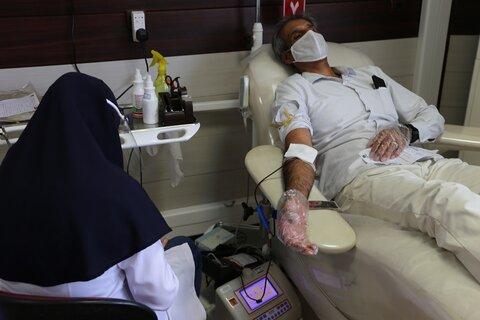 اهدای خون کارکنان بهزیستی