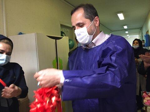 گزارش تصویری| افتتاحیه بخش قرنطینه شیرخوارگاه آمنه همزمان با هفته بهزیستی