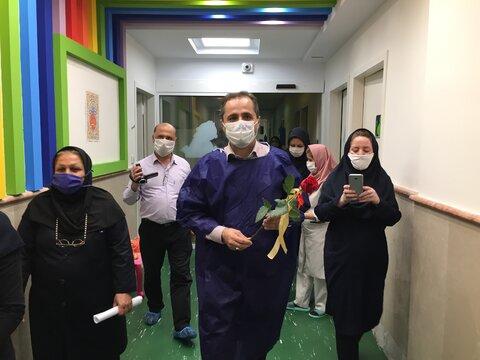 افتتاحیه بخش قرنطینه شیرخوارگاه آمنه همزمان با هفته بهزیستی