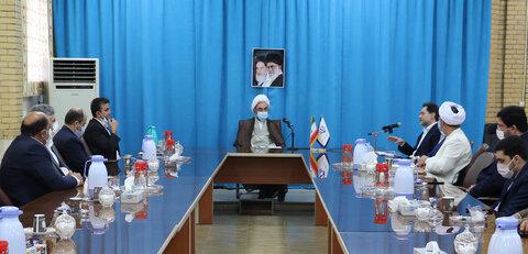 دیدار با نماینده ولی فقیه در استان گیلان و امام جمعه رشت به مناسبت هفته بهزیستی