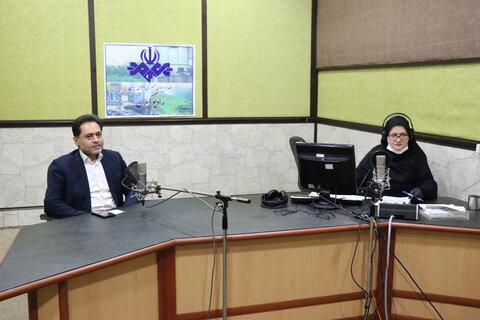 با هم بشنویم | حضور دکتر حسین نحوی نژاد مدیرکل بهزیستی گیلان در برنامه رادیویی شهر ما به مناسبت گرامیداشت هفته بهزیستی