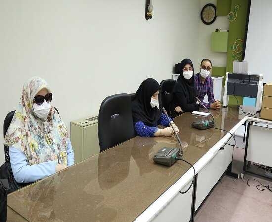 گزارش تصویری / تجهیز کتابخانه نابینایان دانشگاه کردستان به دستگاه پرینتر بریل و برجسته نگار هوشمند