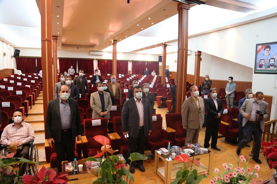 گزارش تصویری| حضور استاندار مازندران در اداره کل بهزیستی استان  به  مناسبت چهلمین سالگرد تاسیس سازمان بهزیستی