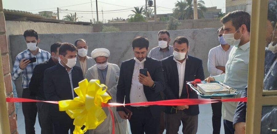 افتتاح مرکز اورژانس اجتماعی بهزیستی شهرستان شادگان