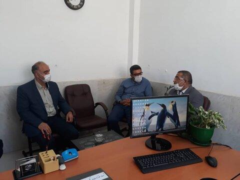 پاکدشت| معاون اجتماعی بهزیستی استان تهران  از اورژانس اجتماعی 123شهرستان پاکدشت بازدید کرد.