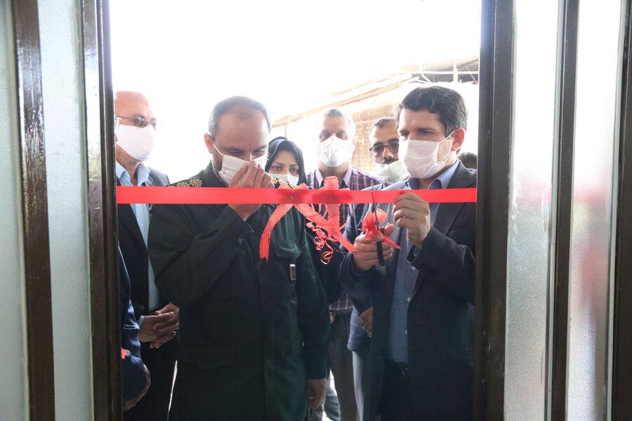 افتتاح مسکن ویژه مددجوی آسیب دیده سیل در علی آباد
