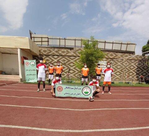 بهارستان مسابقات والیبال بین مراکز اقامتی میان مدت