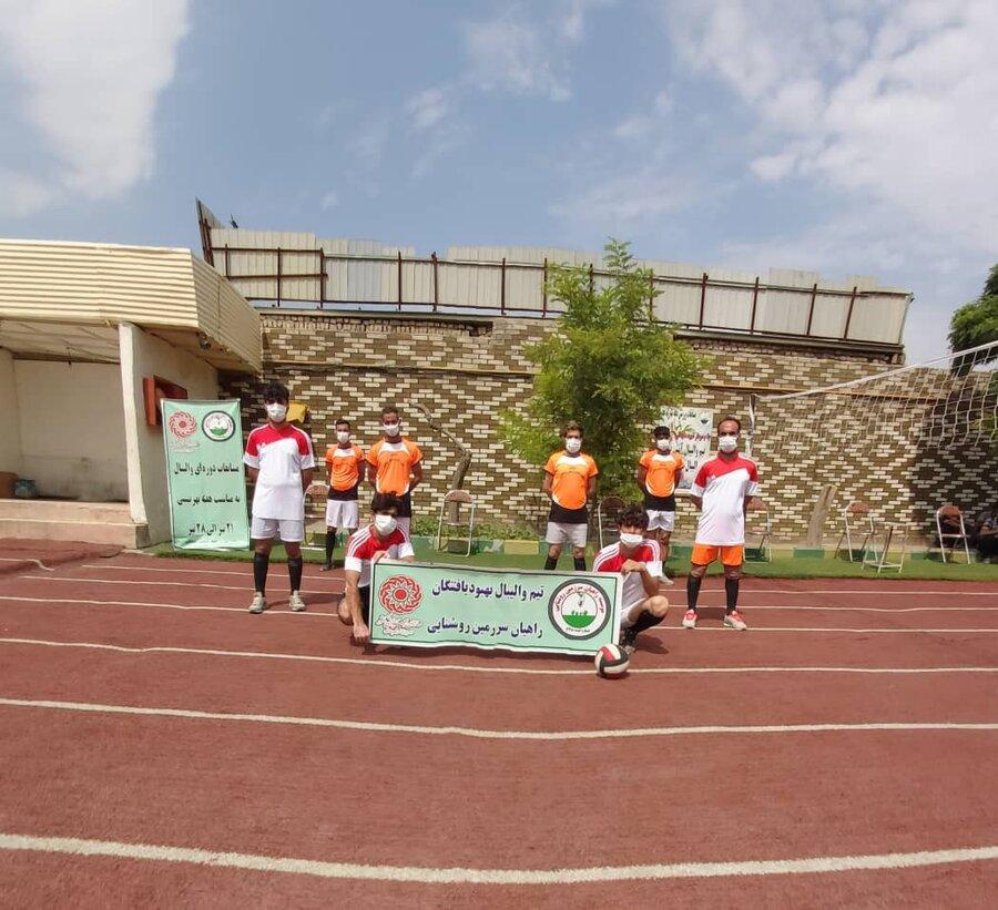بهارستان|مسابقات والیبال بین مراکز اقامتی میان مدت