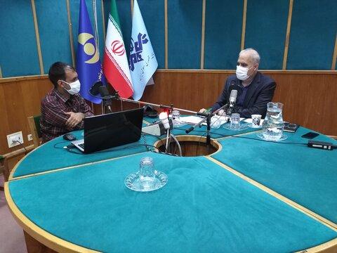 با هم بشنویم| همزمان با هفته بهزیستی دکتر حاجیونی با حضور در برنامه رادیویی مردم ومسئولین به سوالات مردم پاسخ گفت