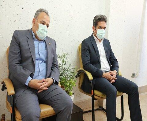 بازدید نماینده مردم در مجلس شورای اسلامی از مرکز اورژانس اجتماعی و خدمات سیار در سطح شهر