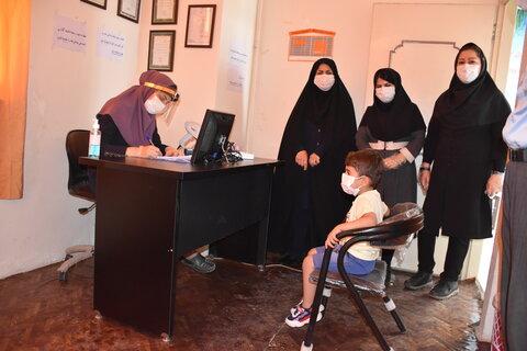 گزارش تصویری  آغاز غربالگری بینایی کودکان 3 تا 6 سال در کرمانشاه