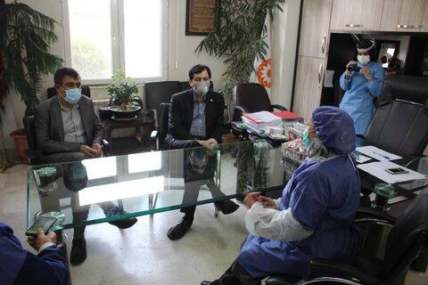 بازدید مدیرکل بهزیستی استان البرز از مرکز نگهداری توانبخشی مادر
