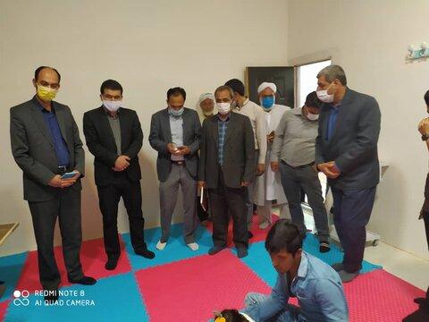 افتتاح مرکز روزانه حرفه آموزی معلولان یکه سعود