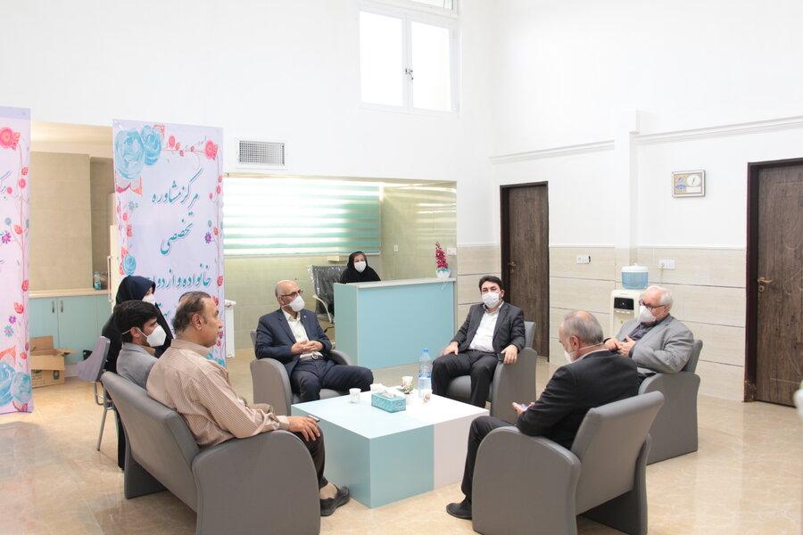 گزارش تصویری | حضور مدیرکل دفتر پیشگیری و درمان اعتیاد سازمان بهزیستی کشور در استان سمنان