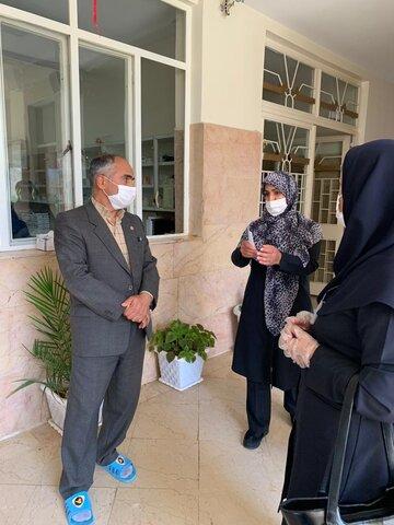 گزارش تصویری|بازدید سرزده معاون توانبخشی بهزیستی استان تهران از مرکز نگهداری معلولان بالای ۱۴ سال فرشتگان دماوند