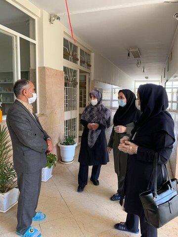 بازدید سرزده معاون توانبخشی بهزیستی استان تهران از مرکز نگهداری معلولان بالای ۱۴ سال فرشتگان دماوند