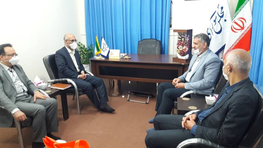 دیدار مدیرکل با نماینده مردم شهرستانهای شاهرود و میامی در مجلس شورای اسلامی