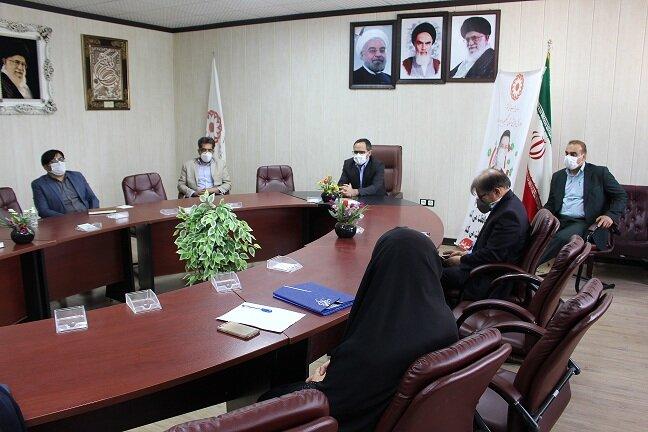 برگزاری مراسم تکریم و معارفه معاون امور اجتماعی بهزیستی استان