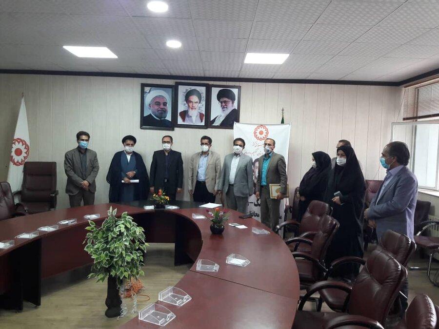 برگزاری مراسم تکریم و معارفه معاون پیشگیری بهزیستی استان کهگیلویه و بویراحمد