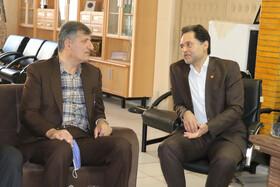 دیدار نماینده مردم رودبار با مدیرکل بهزیستی استان گیلان