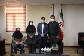 مدیرکل بهزیستی استان البرز از کارکنان دفتر روابط عمومی تقدیر کرد