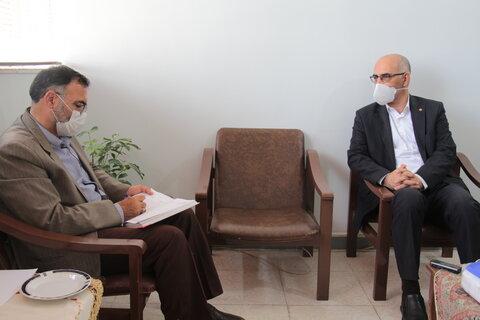 دیدار مدیرکل با نماینده مردم شهرستان دامغان در مجلس شورای اسلامی