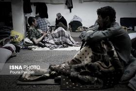دست تنهایی بهزیستی در جمع آوری معتادان متجاهر در دوران کرونا