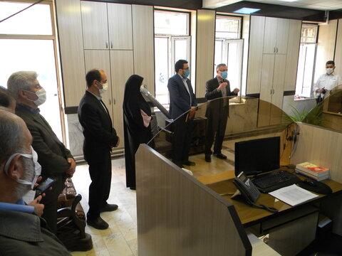 گزارش تصویری ا بازدید مدیرکل امور اجتماعی و فرهنگی استانداری از واحدهای اورژانس اجتماعی و مرکز 1480 بهزیستی شهرستان اردبیل