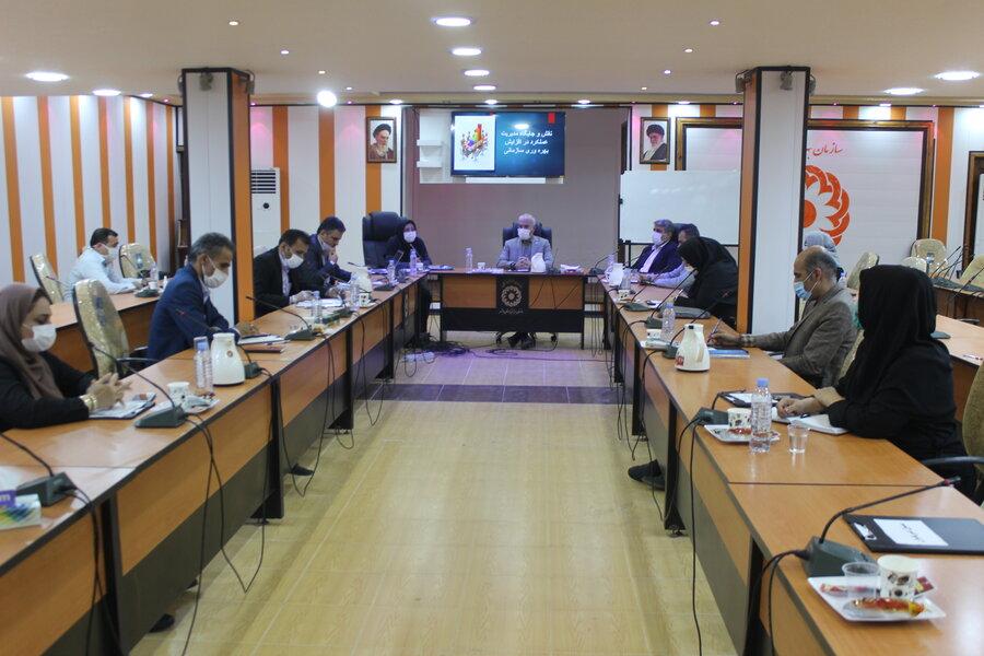 اولین شورای پژوهش بهزیستی استان برگزار شد